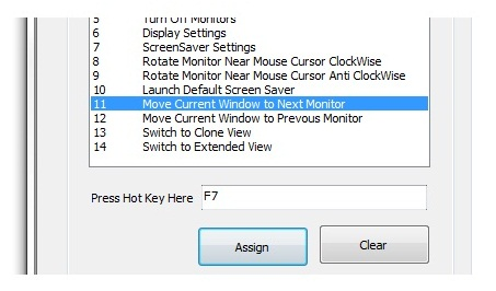 Define HotKey to Move Window across Multiple Monitors