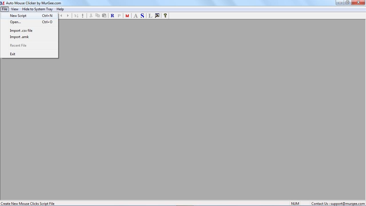 Auto clicker macro script